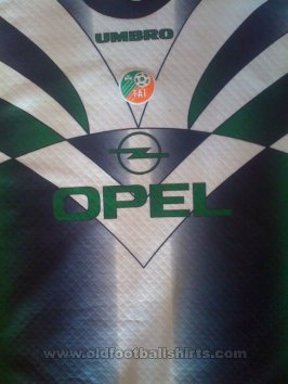 Republic of Ireland Goalkeeper football shirt 1994 - 1996