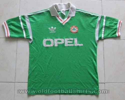 Republic of Ireland Home football shirt 1988 - 1990