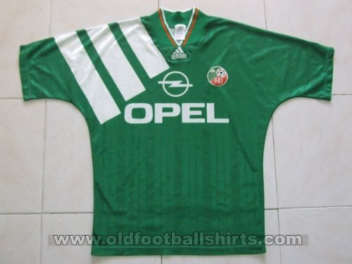 Republic of Ireland Home football shirt 1992 - 1994