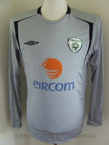 Republic of Ireland Keeper  voetbalshirt  2006 - 2007