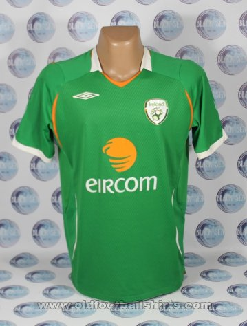 Republic of Ireland Home football shirt 2008 - 2009