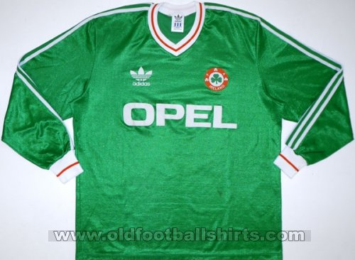 Republic of Ireland Home football shirt 1987 - 1988