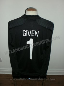 Republic of Ireland Keeper  voetbalshirt  2011 - 2012