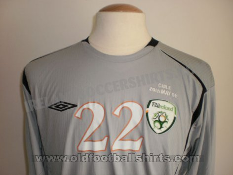 Republic of Ireland Goalkeeper football shirt 2006 - 2007