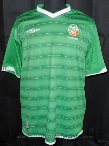 Republic of Ireland Home football shirt 2003 - 2004