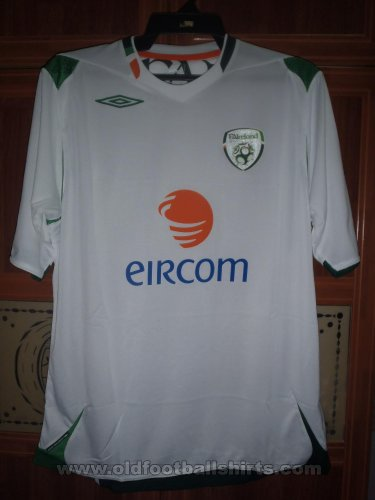 Republic of Ireland Uit  voetbalshirt  2007 - ?