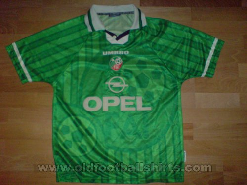 Republic of Ireland Home football shirt 1998 - 1999