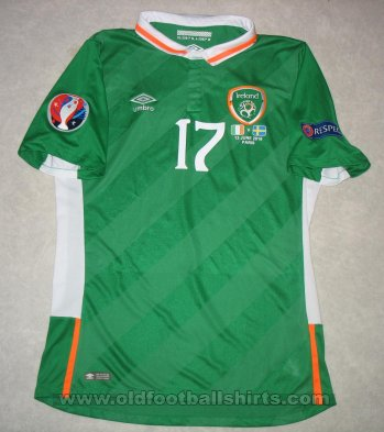 Republic of Ireland Home football shirt 2016 - 2017