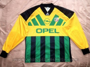 Republic of Ireland Goalkeeper football shirt 1992 - 1994
