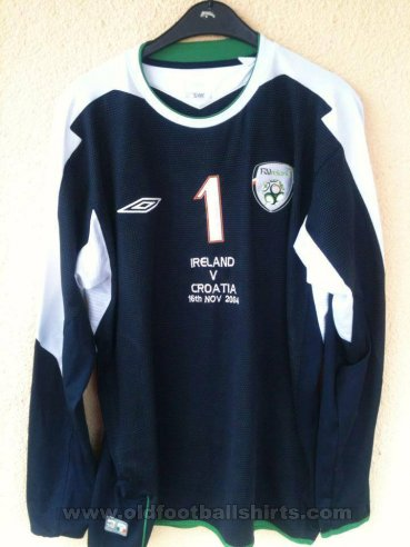 Republic of Ireland Goalkeeper Camiseta de Fútbol 2004 - 2006
