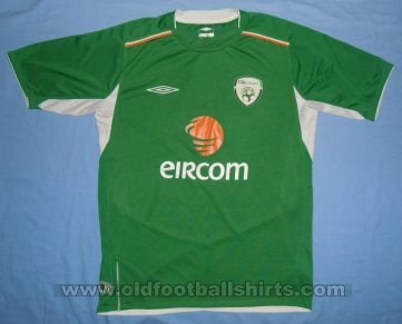 Republic of Ireland Home football shirt 2004 - 2006