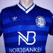 Home football shirt 1986 - 1987
