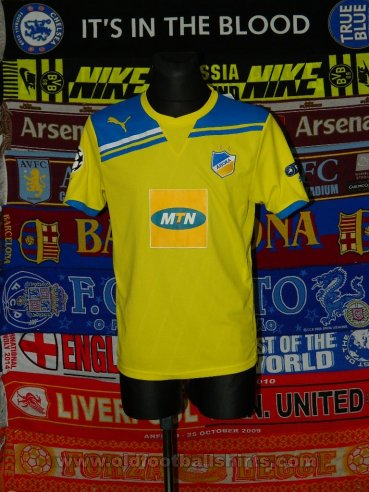 APOEL Home Maillot de foot 2011 - 2012