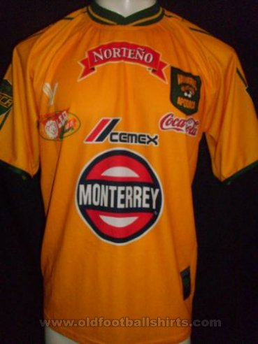 Vaqueros de Apodaca Away football shirt (unknown year)