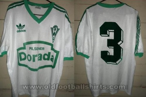 Santiago Wanderers Away football shirt 1992