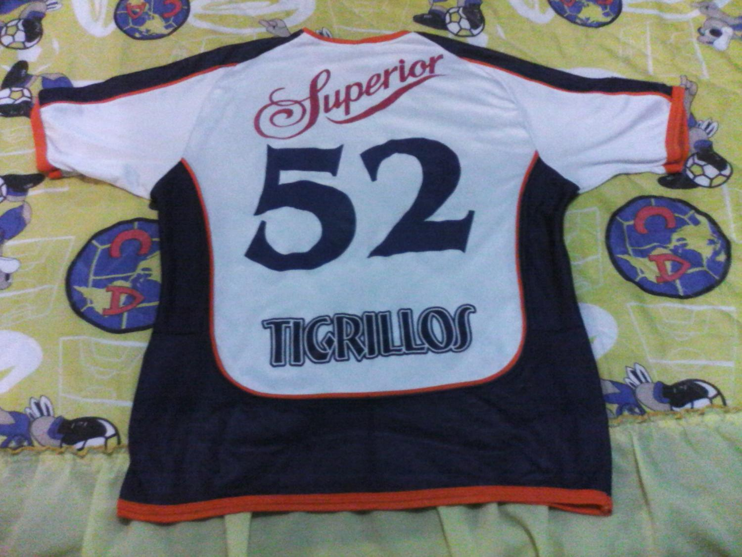 Tigrillos Chetumal Home Camiseta de Fútbol (unknown year)