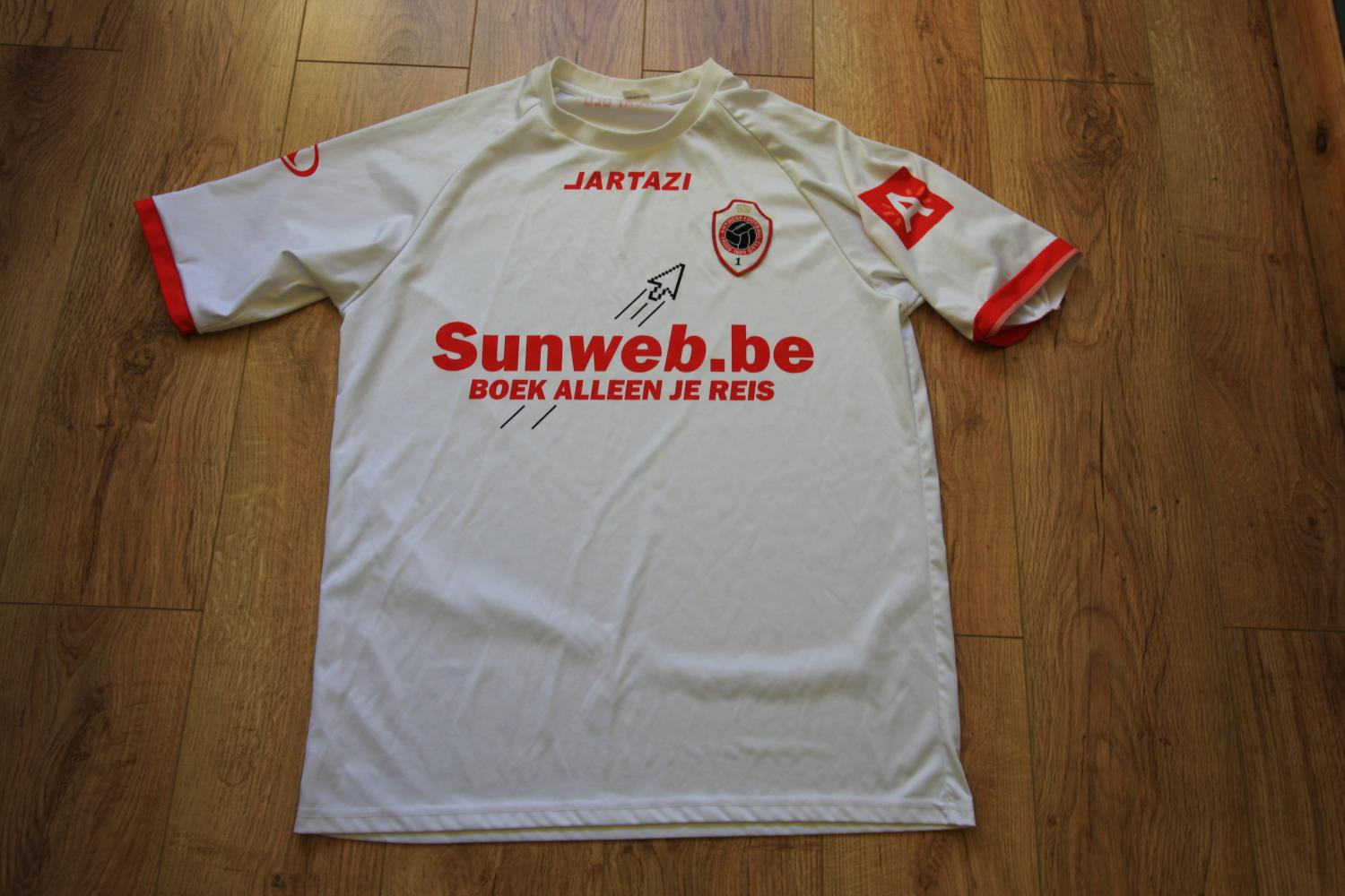 Royal Antwerp Football Club Home Fotbollstroja 2010 2011