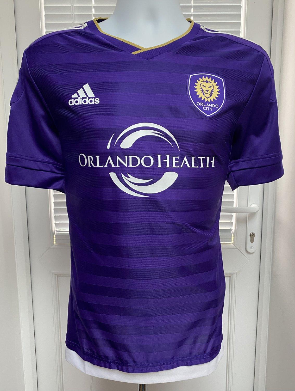 low priced ff606 e2835 Orlando City Home football shirt 2015.