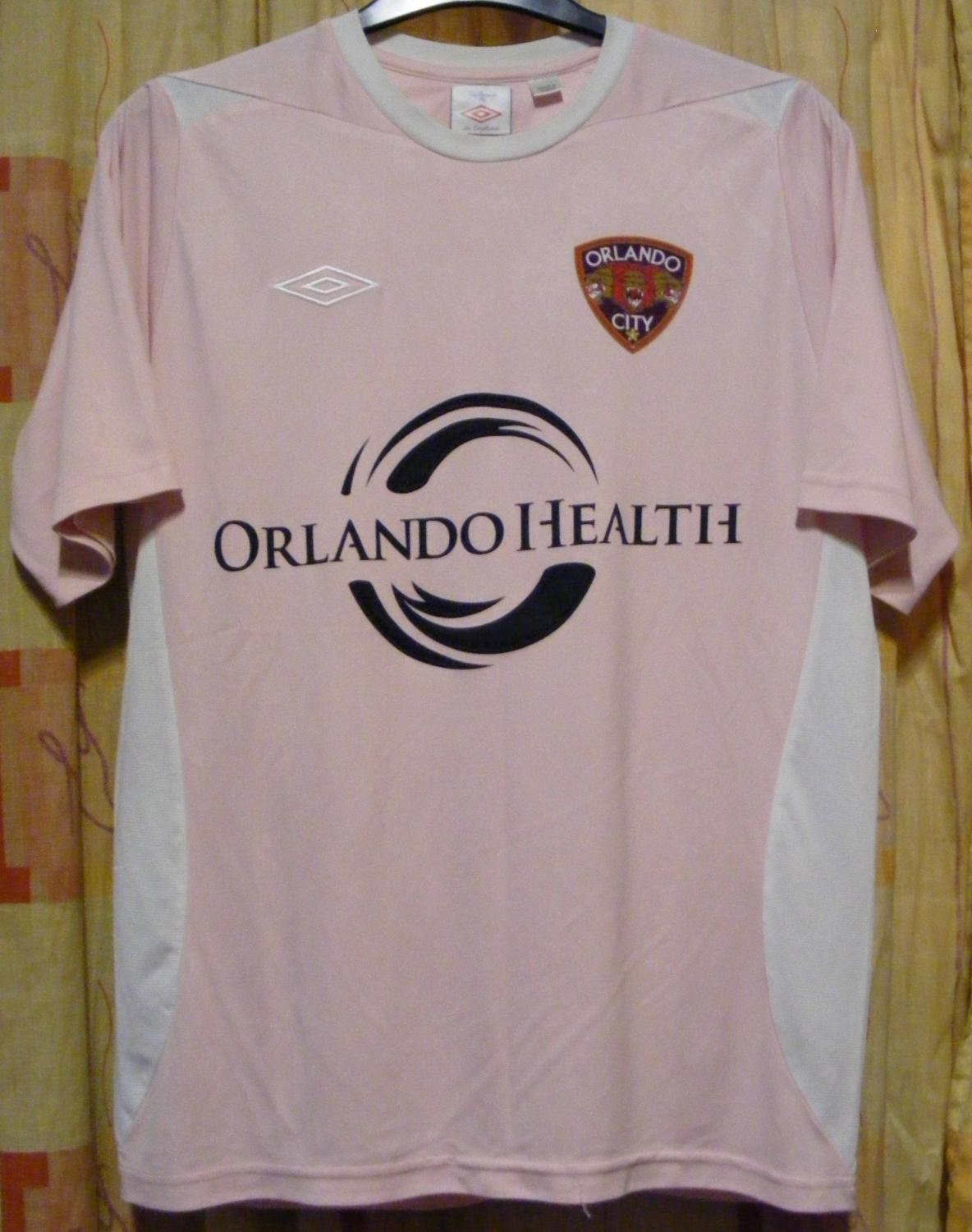 official photos ffca3 9bc84 Orlando City Special football shirt (unknown year).