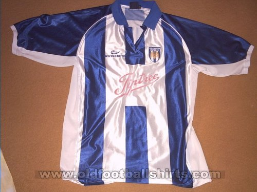 Colchester United Thuis  voetbalshirt  2002 - 2004