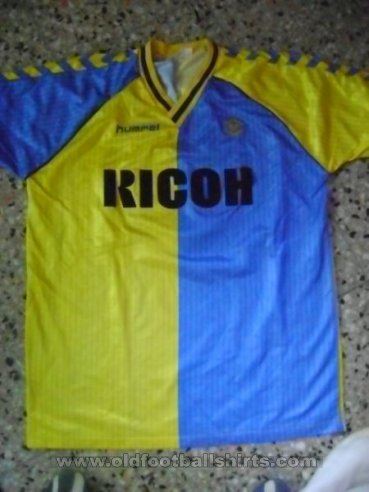 Hellas Verona F.C. Home football shirt 1987 - 1989