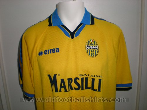 Hellas Verona F.C. Away football shirt 1999 - 2000