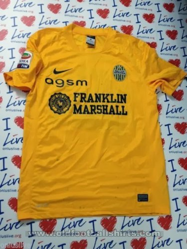 Hellas Verona F.C. Away football shirt 2013 - 2014