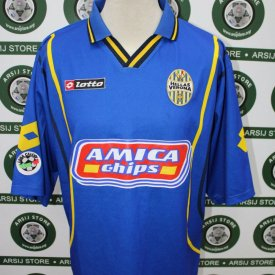Hellas Verona F.C. Away football shirt 2001 - ? sponsored by Amica Chips