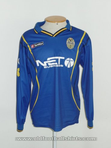 Hellas Verona F.C. Home football shirt 2000 - 2001