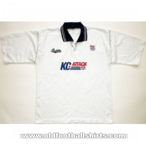 Kansas City Comets Home Camiseta de Fútbol 1991 - 1992