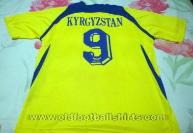 Kyrgyzstan Home football shirt 2015