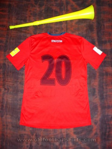 Kyrgyzstan Away football shirt 2015 - 2016
