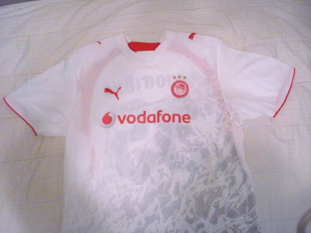 Olympiacos ext rieur maillot de foot 2006 2007 ajout for Maillot exterieur