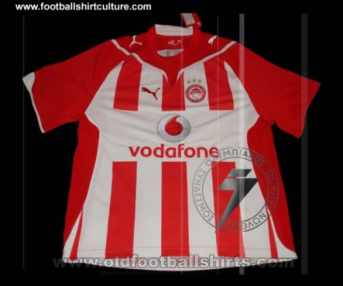 Olympiacos Home football shirt 2009 - 2010