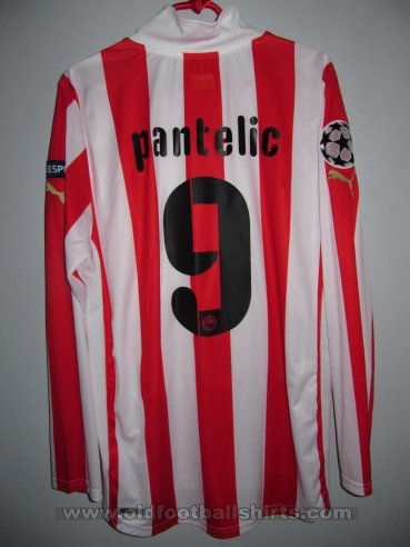 Olympiacos Home football shirt 2011 - 2012