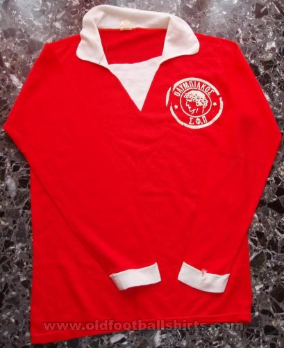 Olympiacos Home football shirt 1933 - 1934