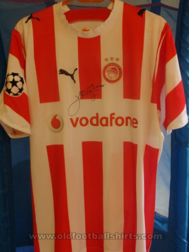 Olympiacos Home football shirt 2006 - 2007