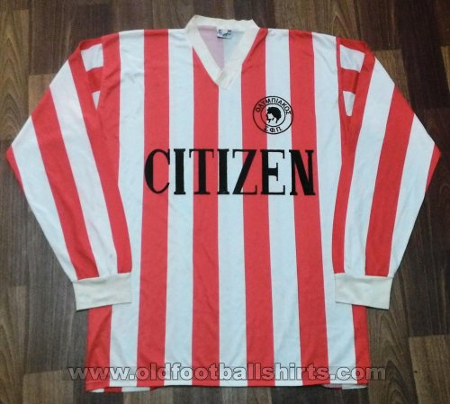 Olympiacos Home football shirt 1985 - 1986