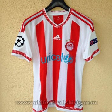 Olympiacos Maillot de coupe Maillot de foot 2015 - 2016