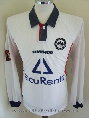 Tennis Borussia Berlin Away football shirt 1998 - 1999