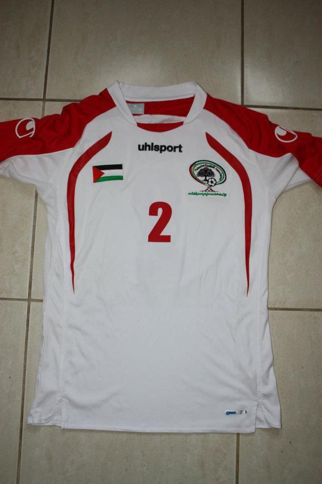 maillot de foot palestine