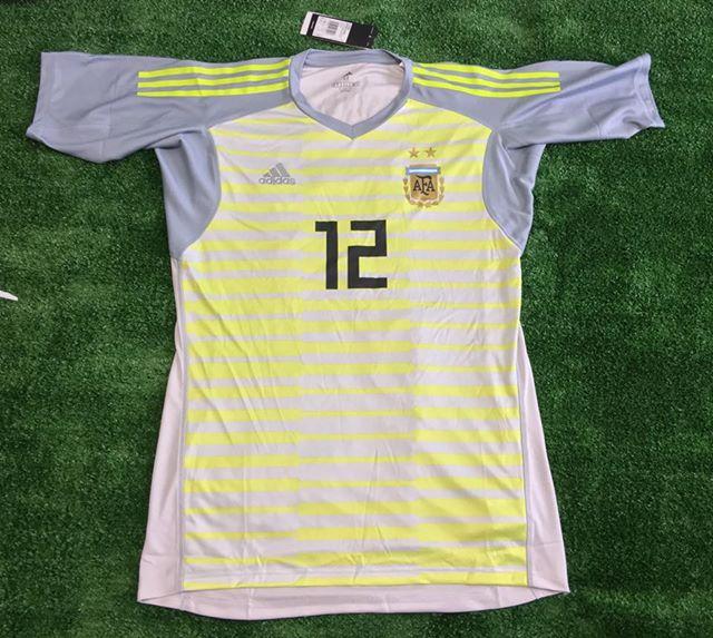 2e0cc9f5d7 Nova Temporada Argentina Goalkeeper camisa de futebol 2018 - 2019.