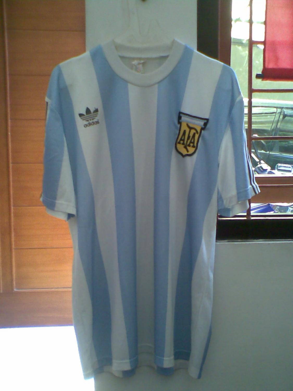 bb779e65b Argentina Home maglia di calcio 1989 - 1990.