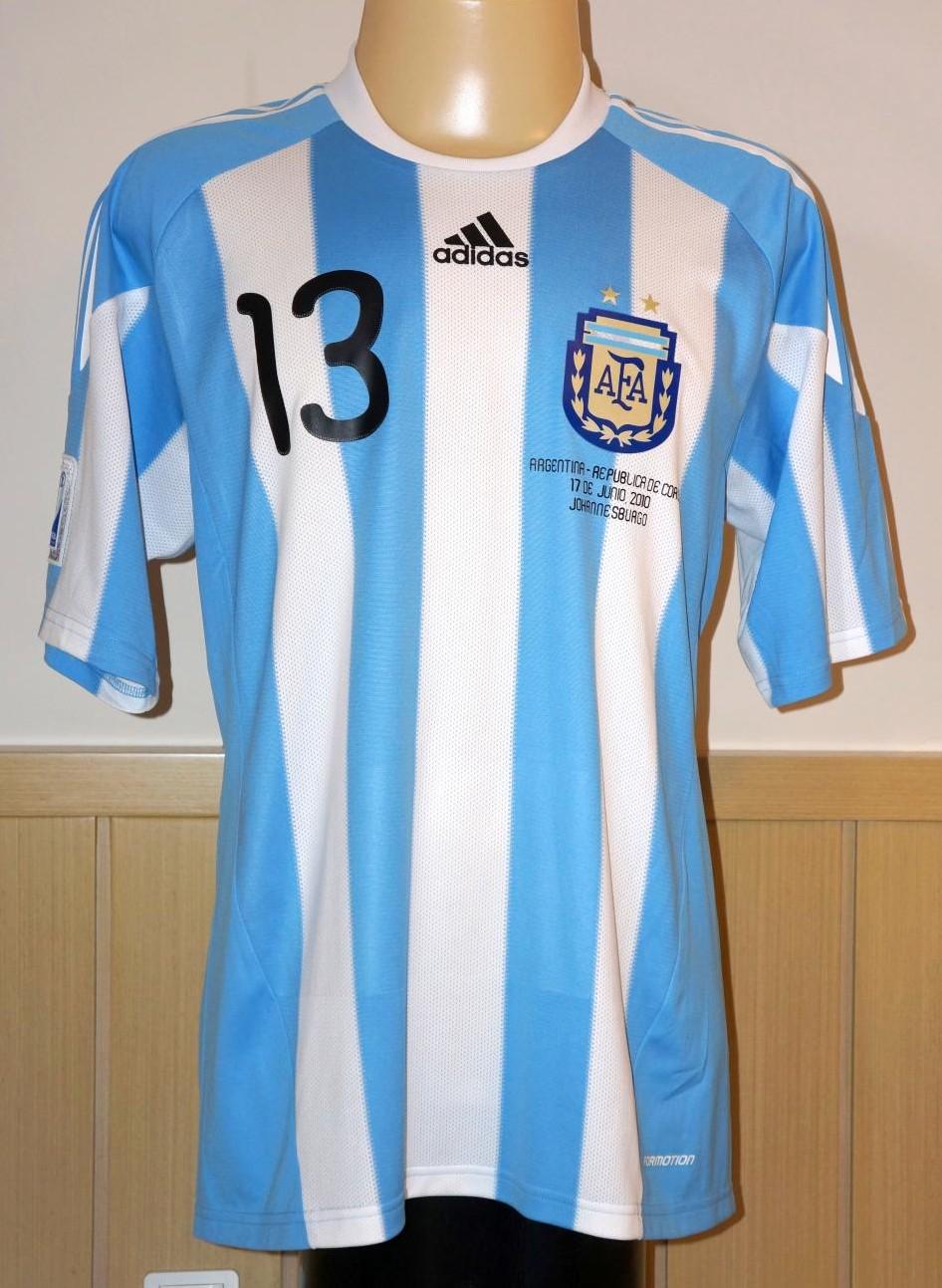 7d6e607ba9b Argentina Home maglia di calcio 2010 - 2011.