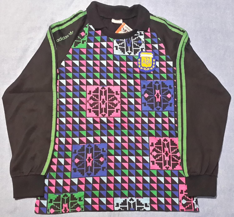 dfa286d24 Argentina Goalkeeper maglia di calcio 1990 ...
