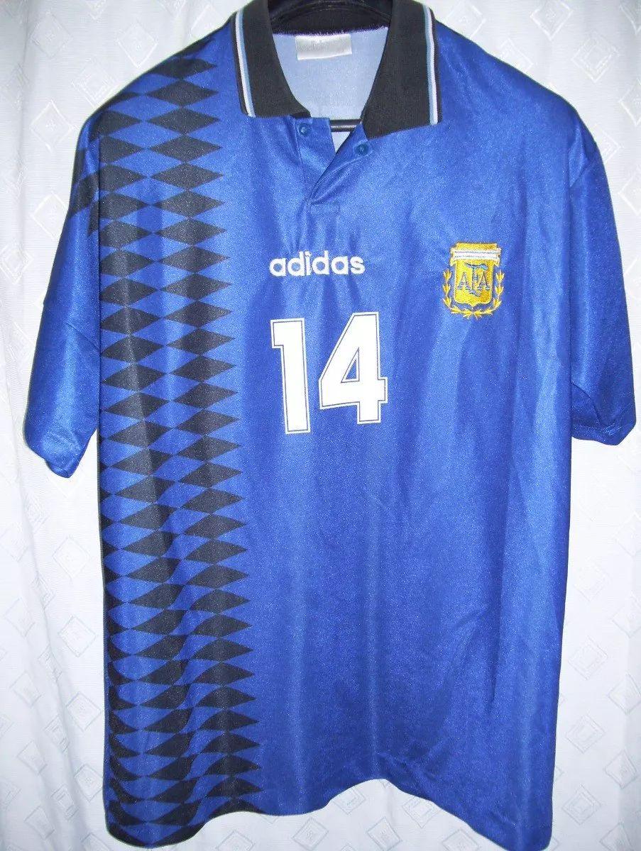 Argentina Away football shirt 1994 - 1995.