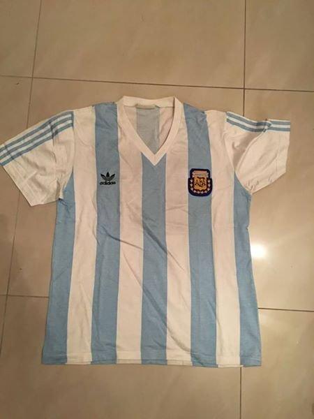 819ec3fa3 Argentina Home maglia di calcio 1990 - 1991 ...