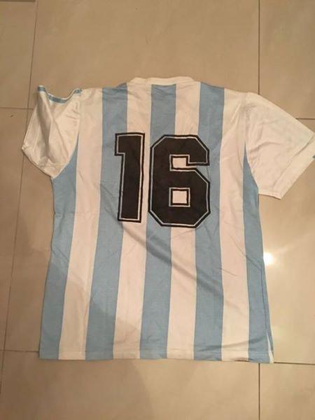 a5432bc84 ... Argentina Home maglia di calcio 1990 - 1991