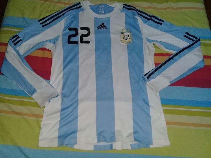 4dc975458 Argentina Home camisa de futebol 2007 - 2009 ...
