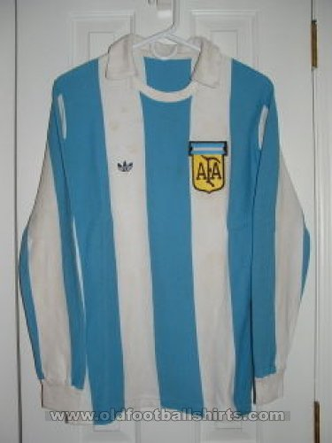 Argentina Home football shirt 1977 - 1978